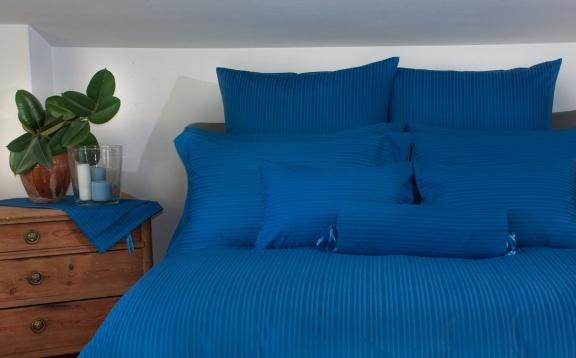 Copripiumino Spiga Azzurro