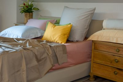 Cotton Sheets Plain Color