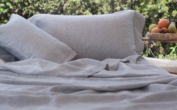 Linen Natural Grey