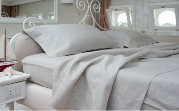Natural Linen Sheets