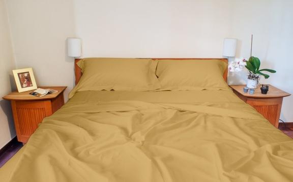 Cotton Sateen Sheets Plain Color