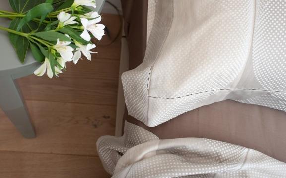 Bedspread Ami Silver
