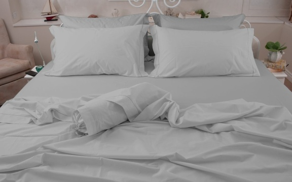 Smooth Cotton Sheets plain color