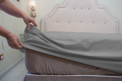 Made to Measure Cotton Fitted Sheets Plain Color