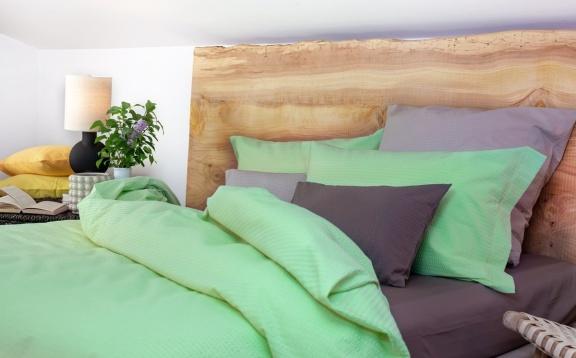 Copripiumino Natur Duo Verde