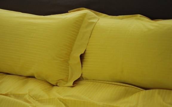Коллекция «Herringbone». Желтый шафран